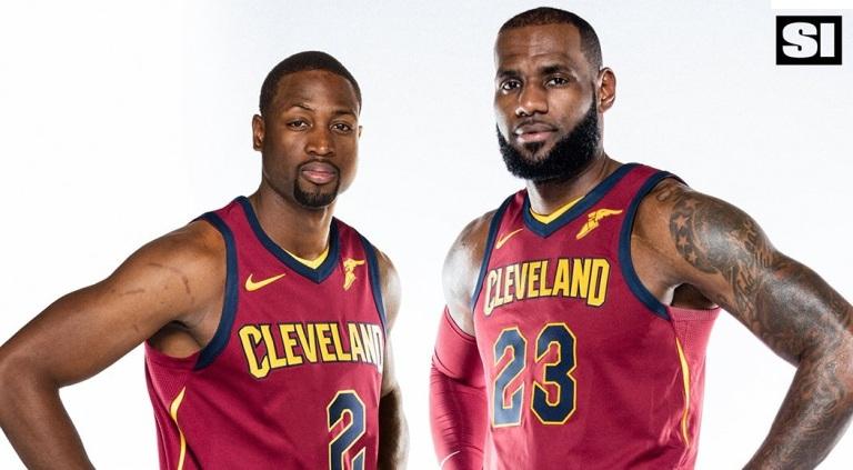 LeBron-james-Dwyane-Wade-Cavs-jersey
