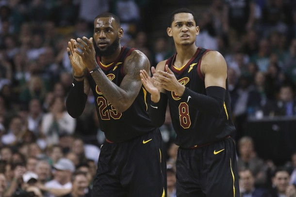LeBron-James-Jordan-Clarkson-Cavaliers-610x407